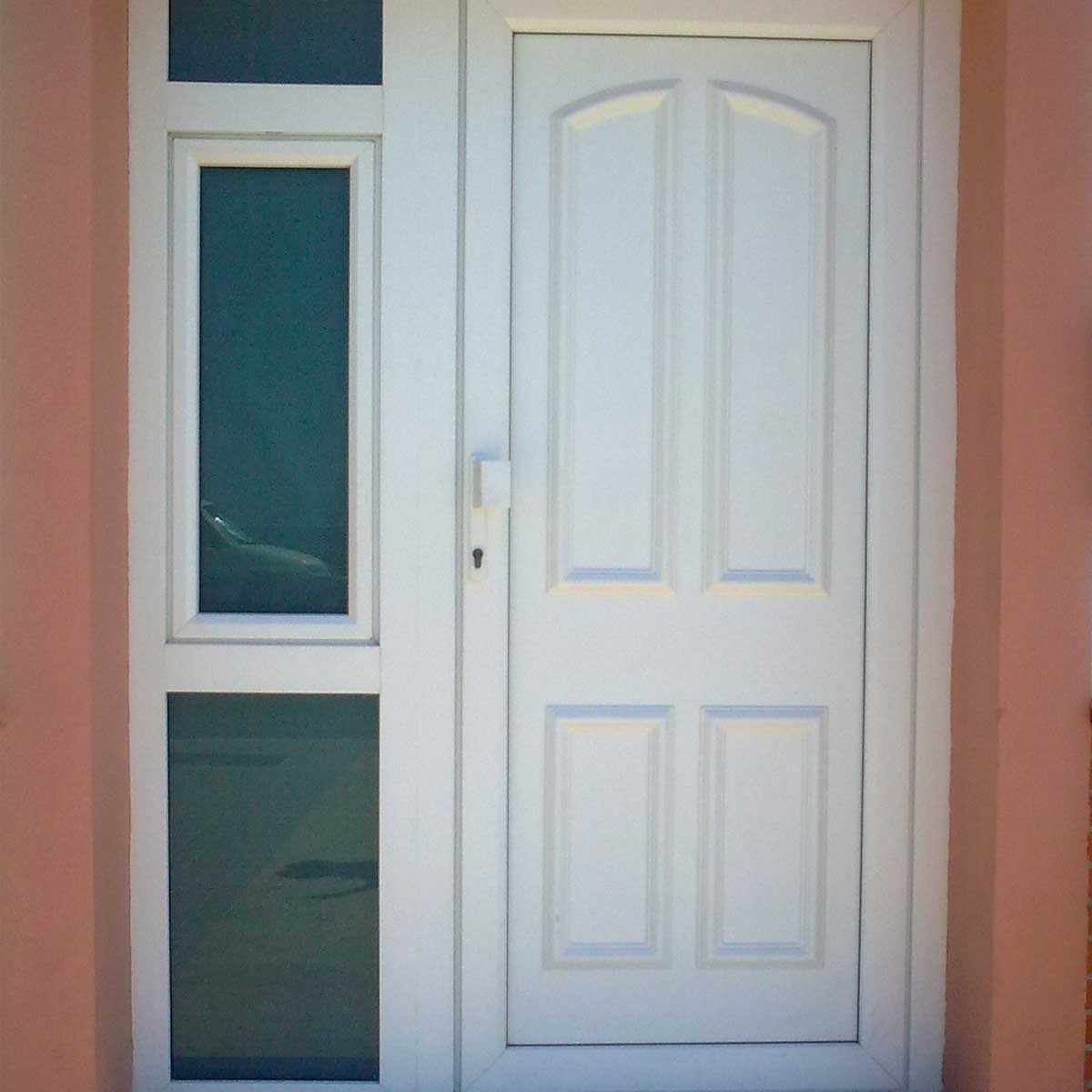 Puertas exteriores de pvc cheap tempohiades with puertas - Puertas de exterior de pvc ...
